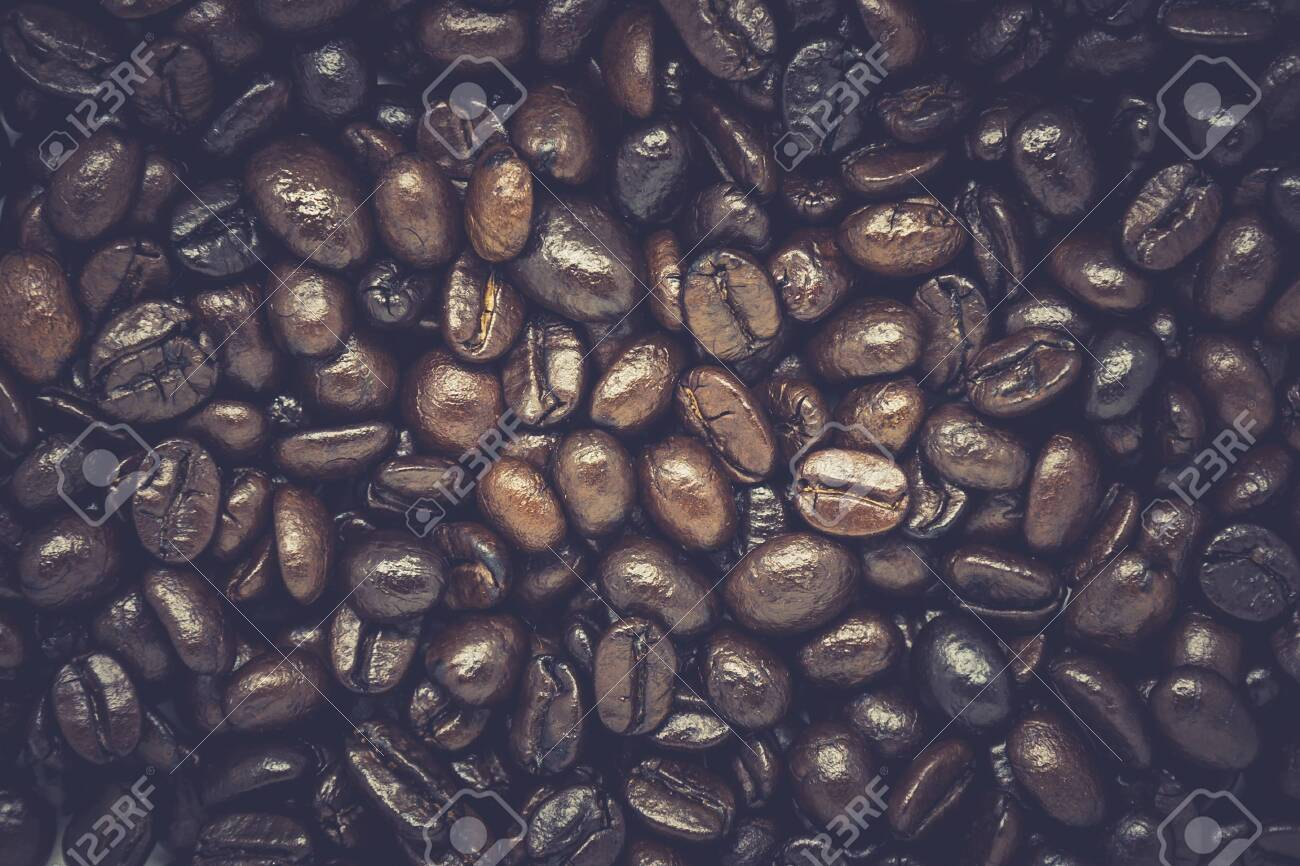 Coffee beans background. - 141430805