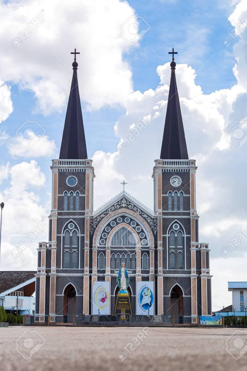 The Catholic Church Chanthaburi of the immaculate conception , Chanthaburi, Thailand, Aug 27, 2016 - 142157733