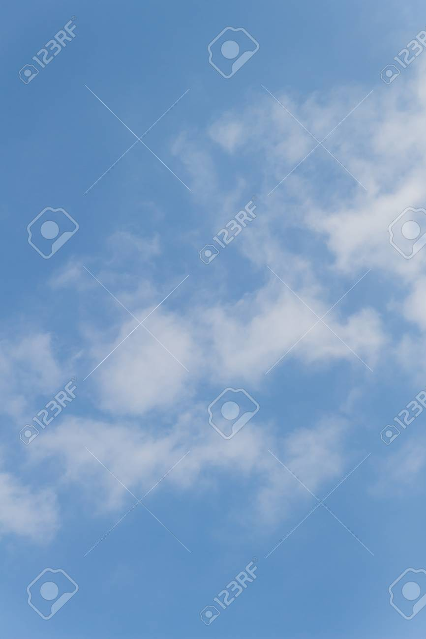 blue sky and cloud  in Thailand . Stock Photo - 25851830