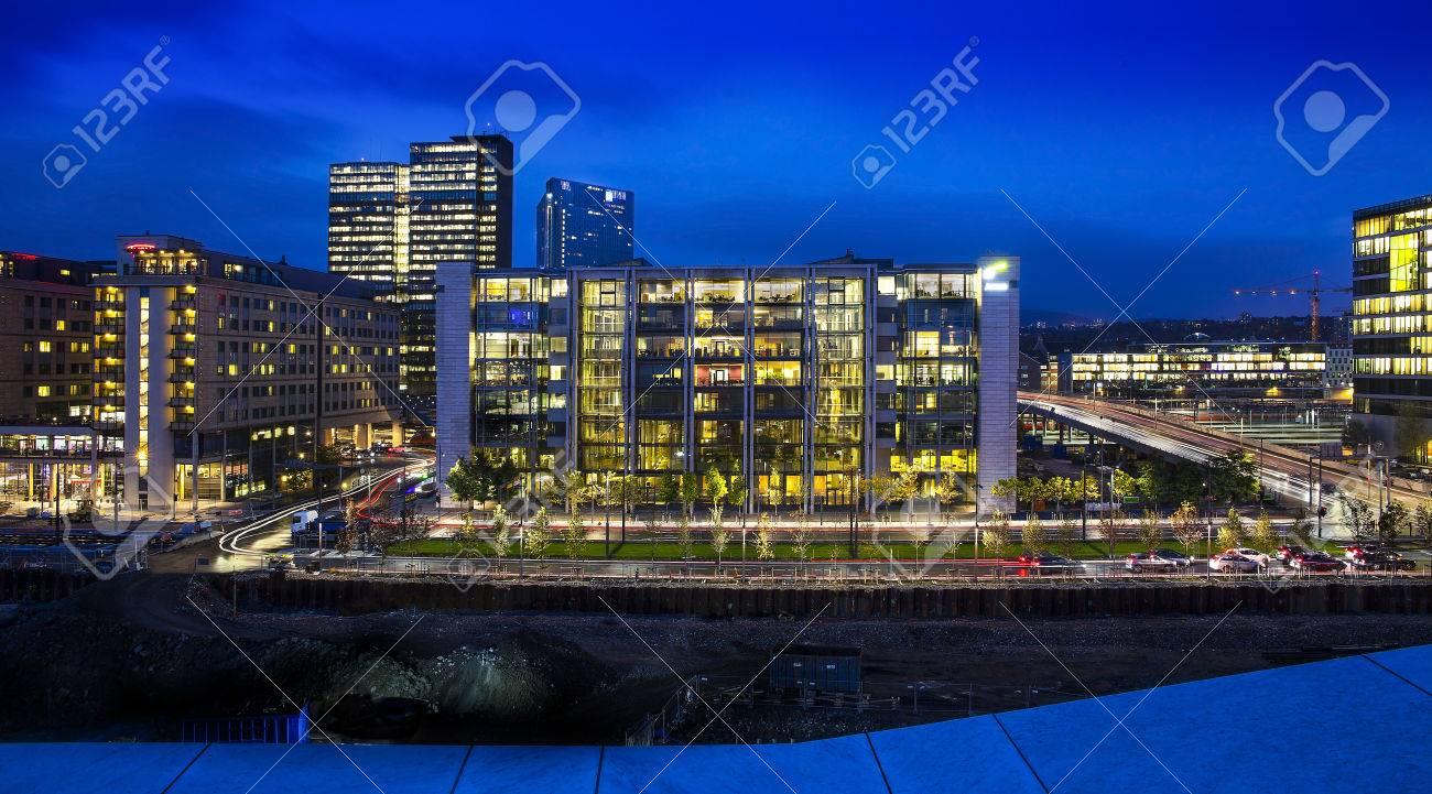 Immagini Stock Oslo è La Capitale Della Norvegia E La Città Più