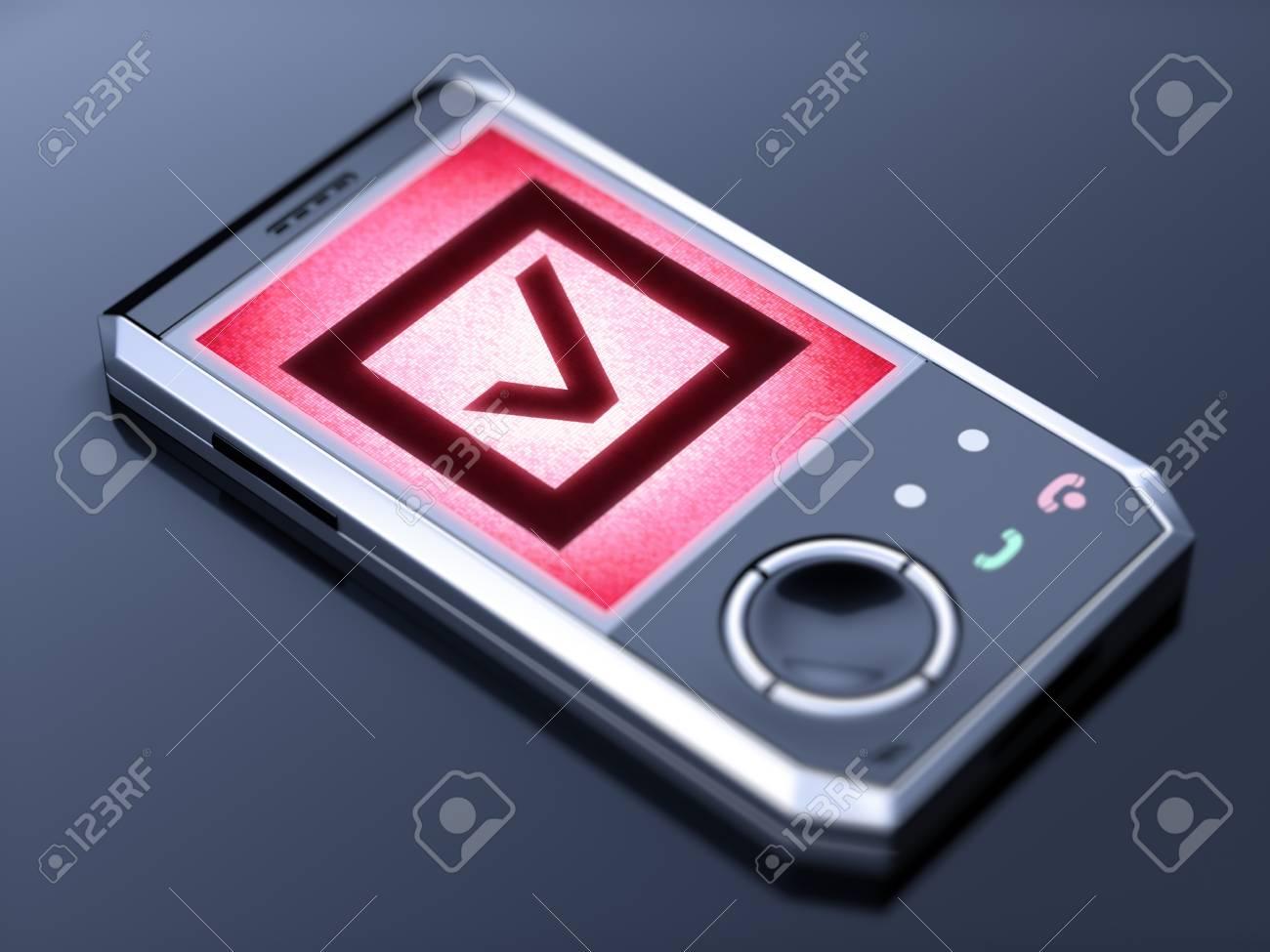 mobile phone Stock Photo - 10671977