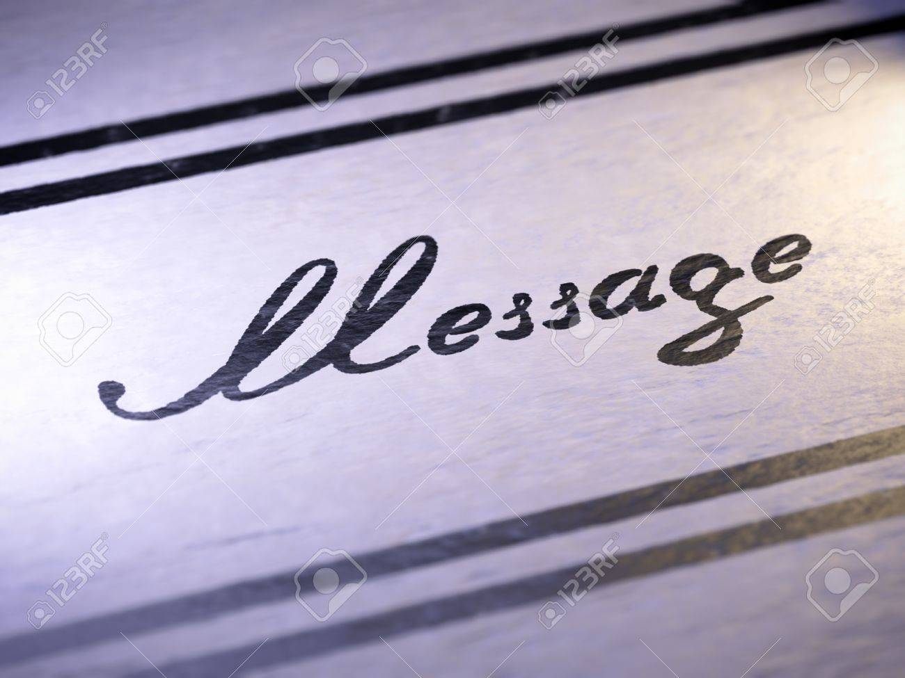 Message Stock Photo - 18367089