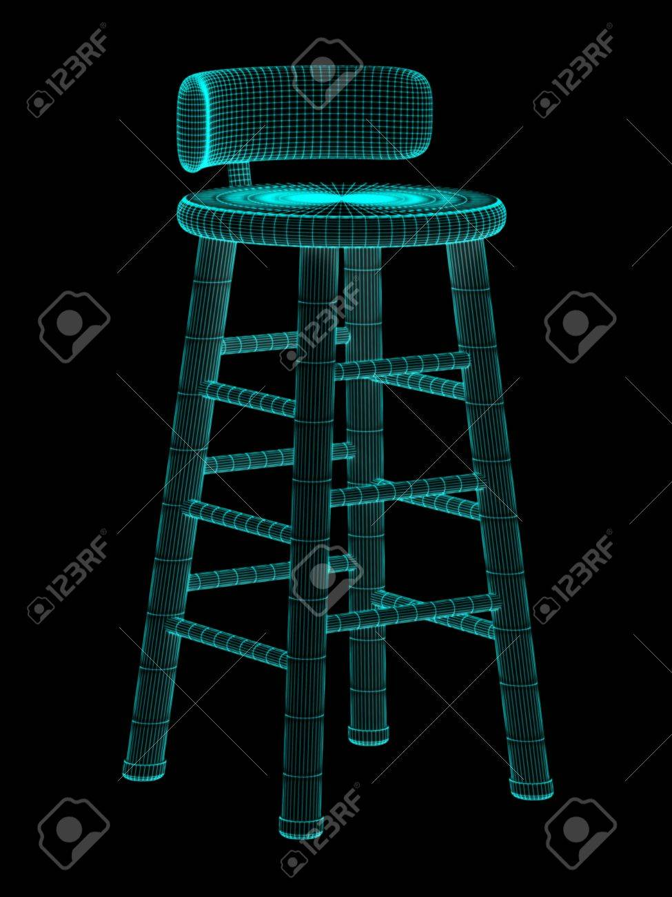 stool Stock Photo - 18543135