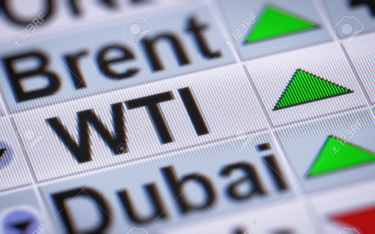 WTI Crude Oil  Up