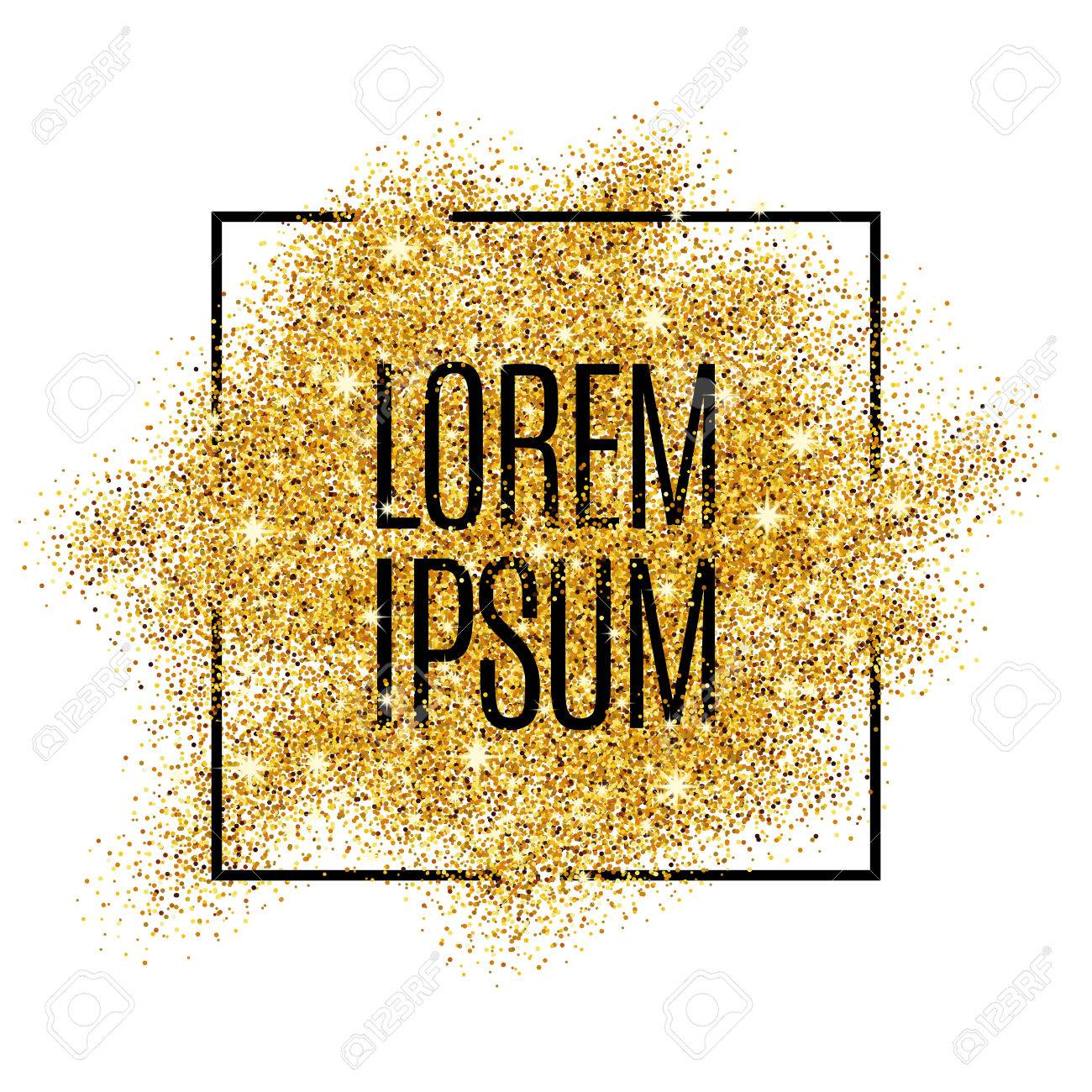 Gold background for poster, shopping, for sale sign, discount, marketing, selling, web, header. Abstract golden background for text, type, quote. Gold blur background - 52579336