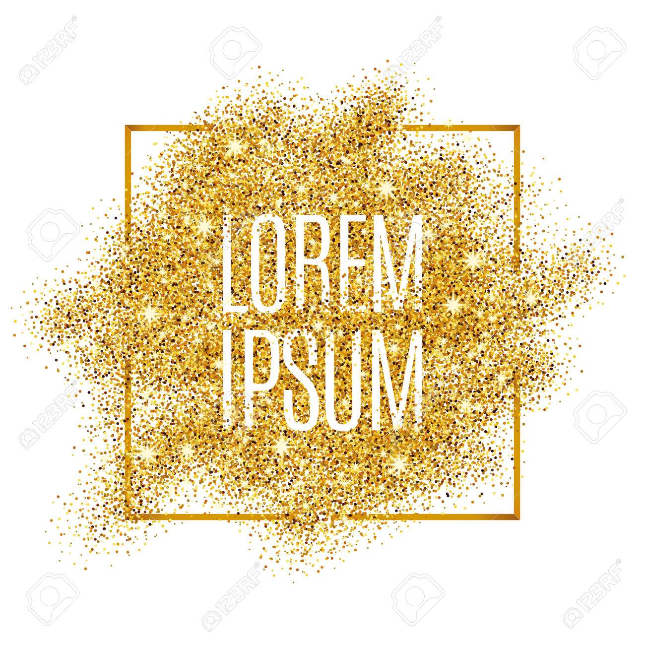 Gold background for poster, shopping, for sale sign, discount, marketing, selling, web, header. Abstract golden background for text, type, quote. Gold blur background - 52579337