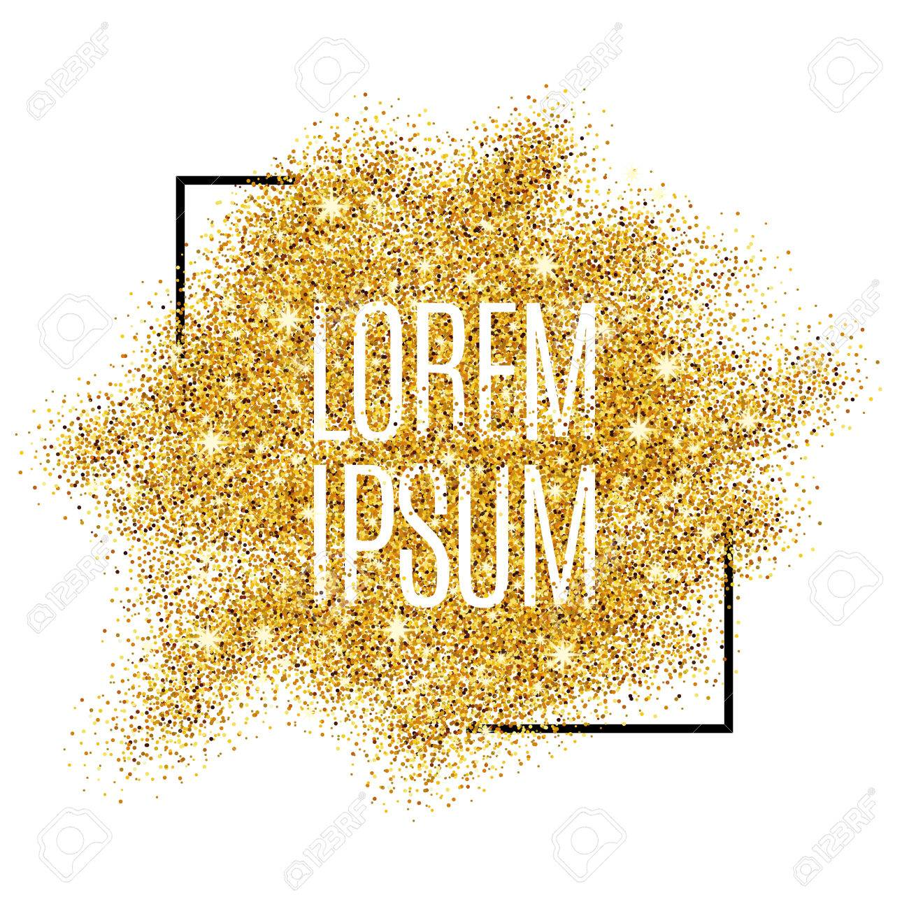 Gold background for poster, shopping, for sale sign, discount, marketing, selling, web, header. Abstract golden background for text, type, quote. Gold blur background - 52579335
