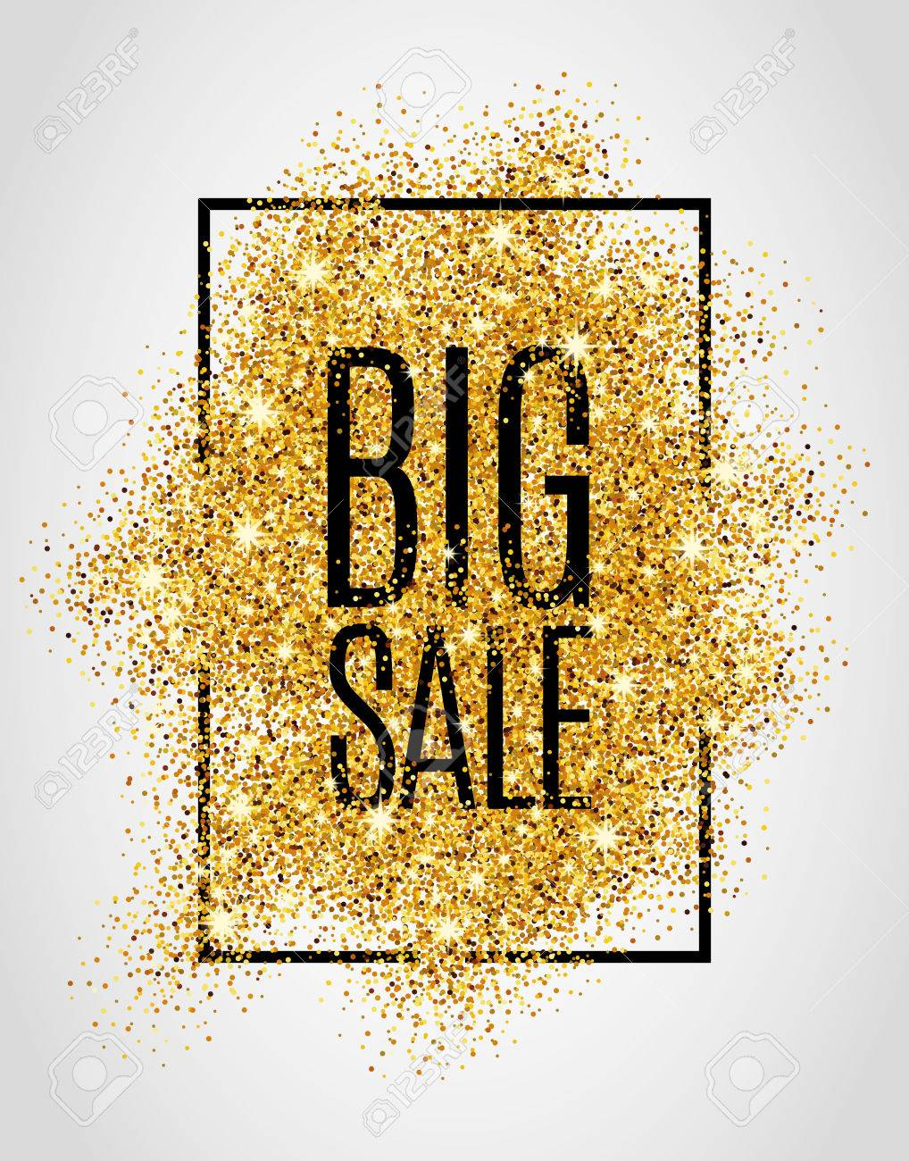 Gold sale background for poster, shopping, for sale sign, discount, marketing, selling, web, header. Abstract golden background for text, type, quote. Gold blur background - 52579340