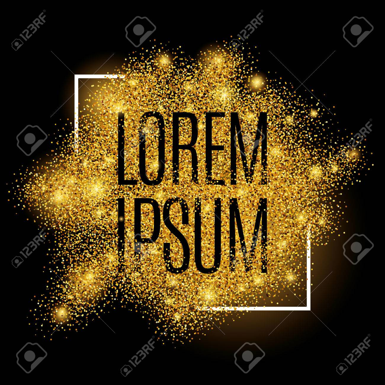 Gold background for poster, shopping, for sale sign, discount, marketing, selling, web, header. Abstract golden background for text, type, quote. Gold blur background - 52579351