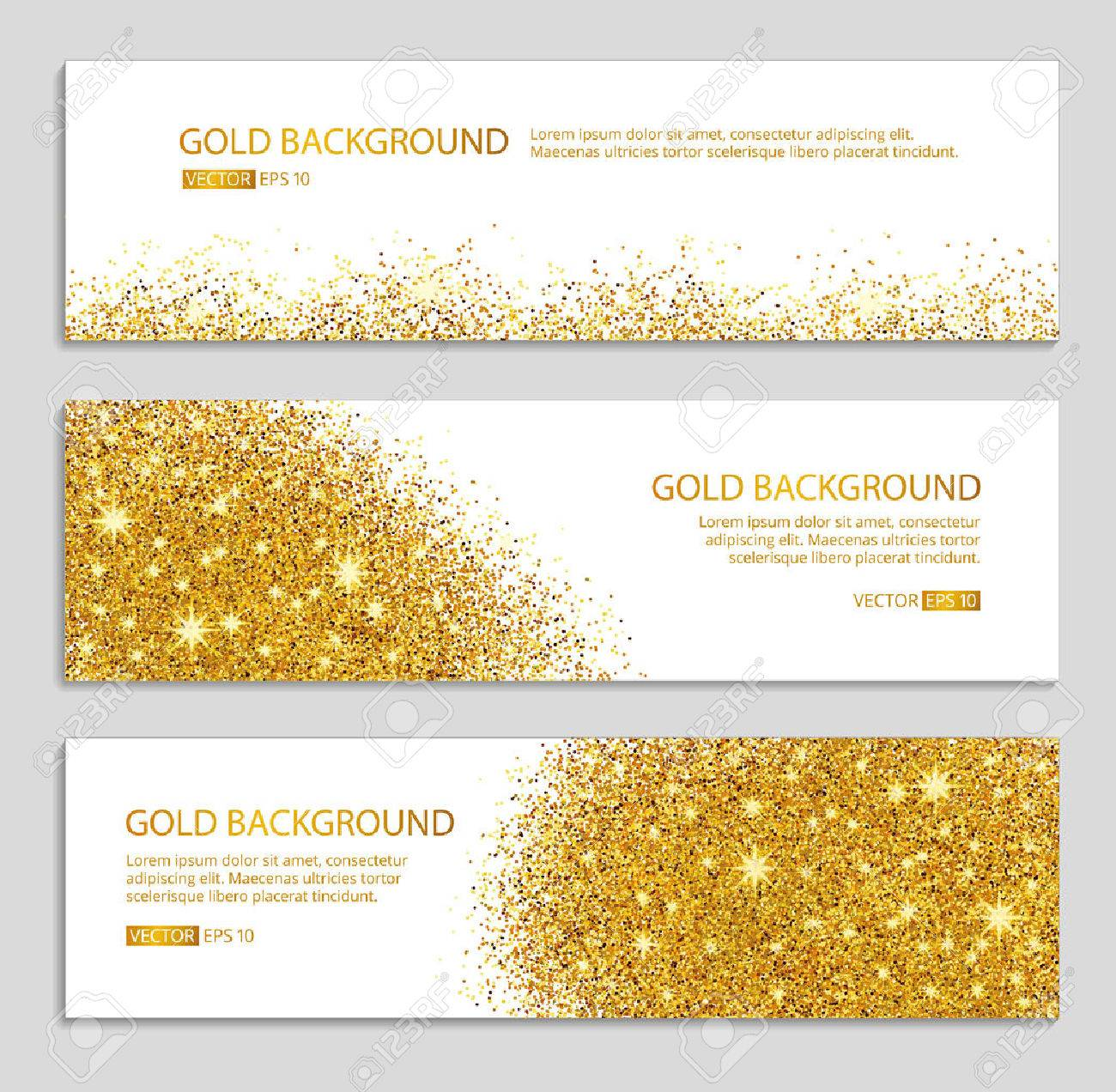 Gold sparkles white background. Gold banner. Gold background. Gold club with text. web, card, vip, exclusive, certificate, gift, luxury, voucher, store, shopping, sale. - 52579350