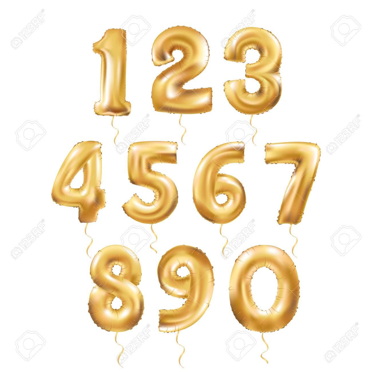 Metallic Gold Letter Balloons, 123 golden numeral alphabeth. Gold Number Balloons, 1, Alphabet Letter Balloons, 2, Number Balloons, 3 Air Filled Balloon - 67581288