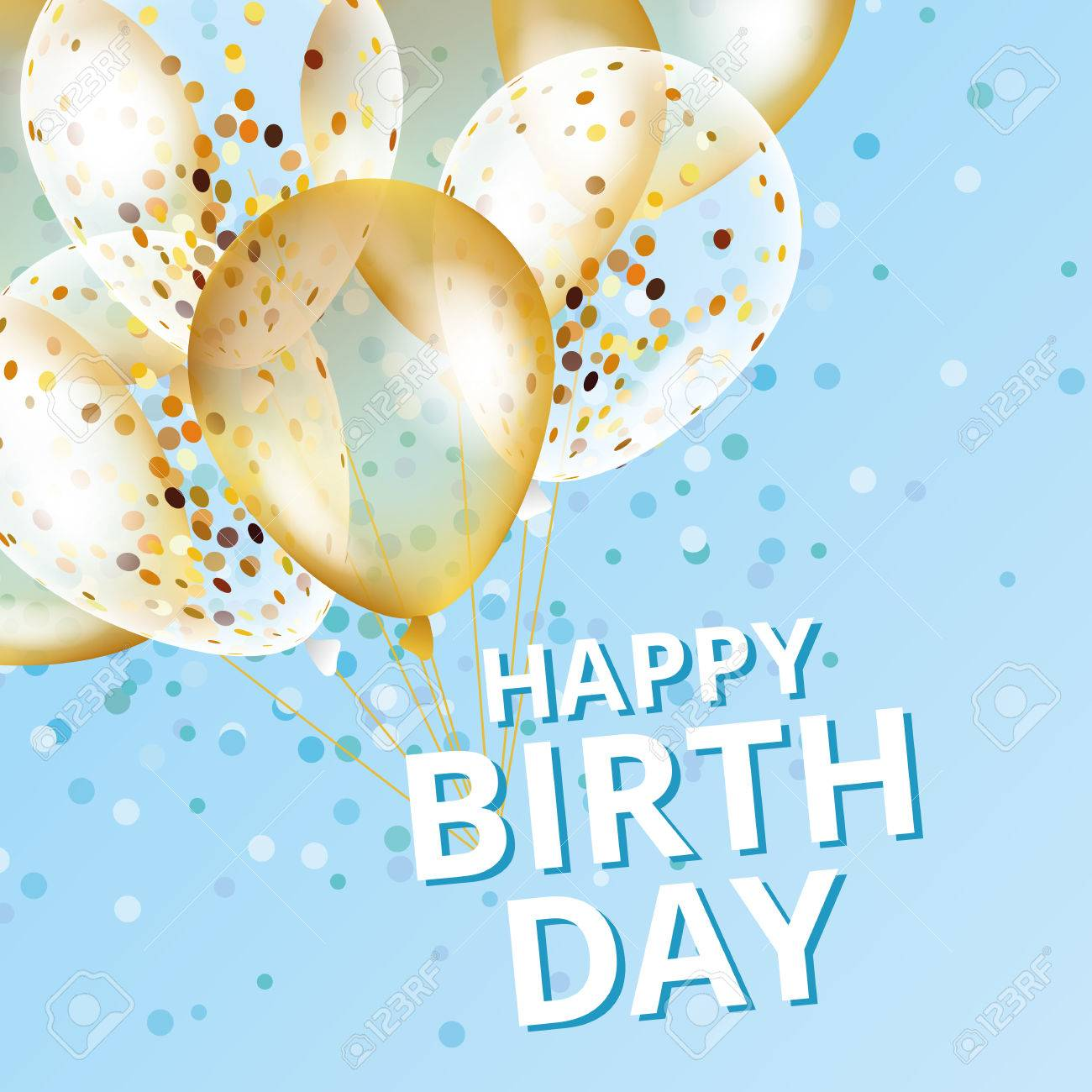 Balloons happy birthday - 79160218