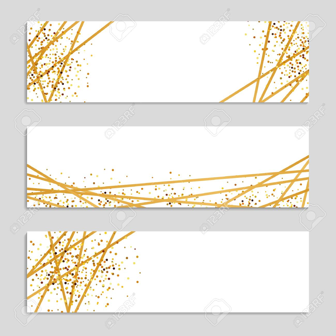 gold sparkles banner background streamer background golden ribbon sparkling glitter christmas holidays background