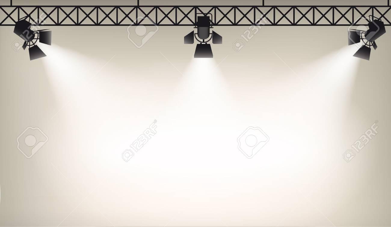 Illustration of Spot light background eps 10 - 50867864