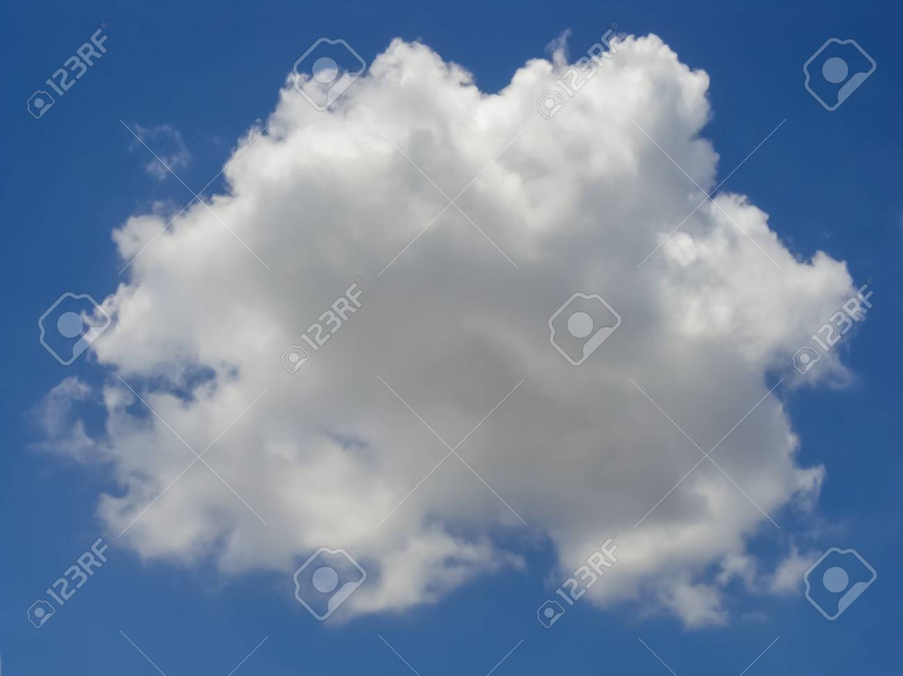 single white clouds Stock Photo - 13823178