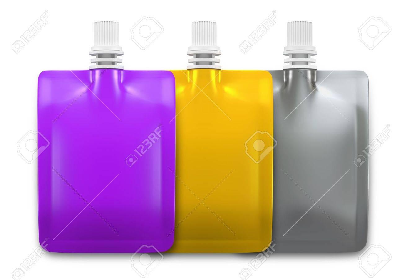 3D Beverage packaging for drink Design 3 set - 15122783
