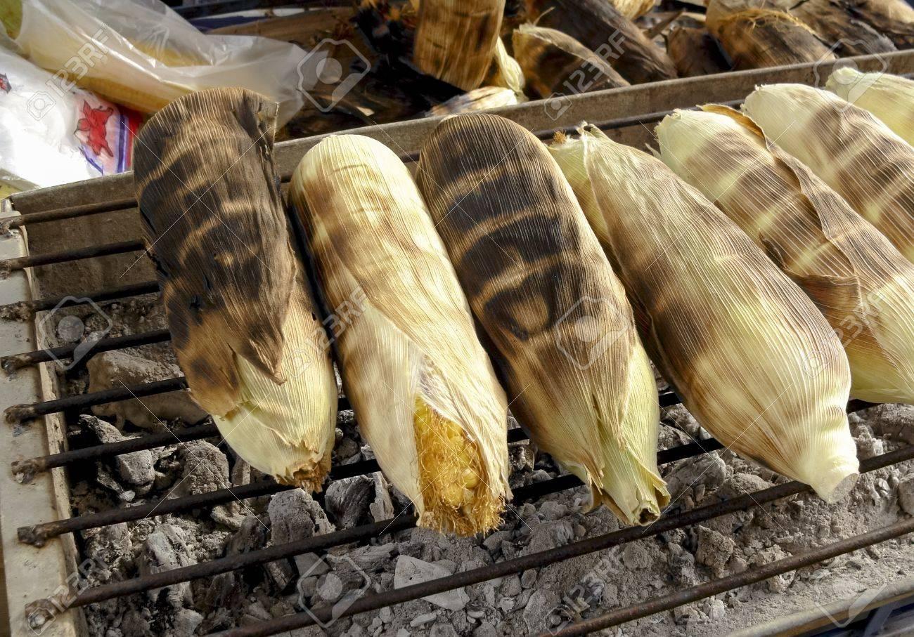grilled corns Stock Photo - 15265765