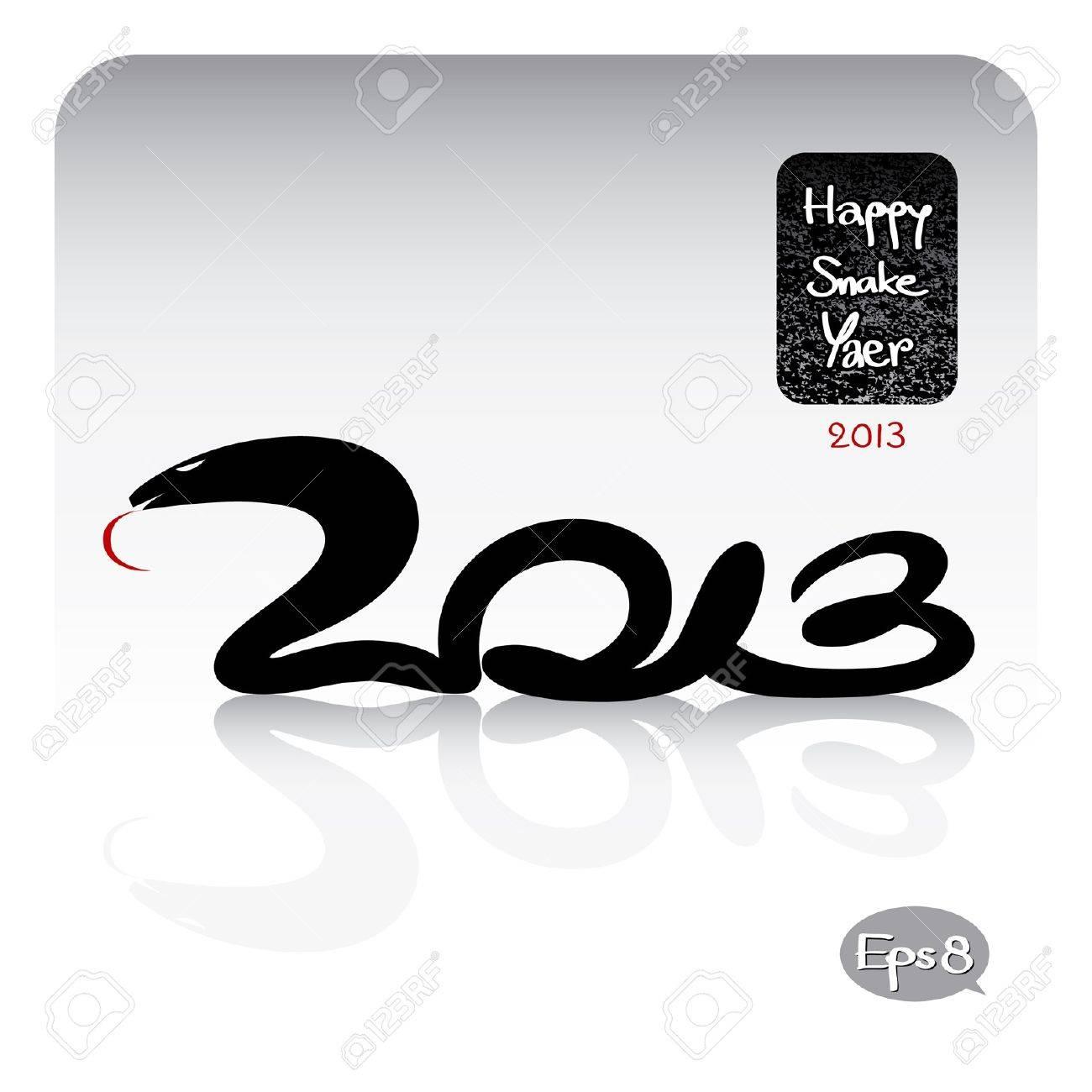 happy snake year 2013 - 15528487