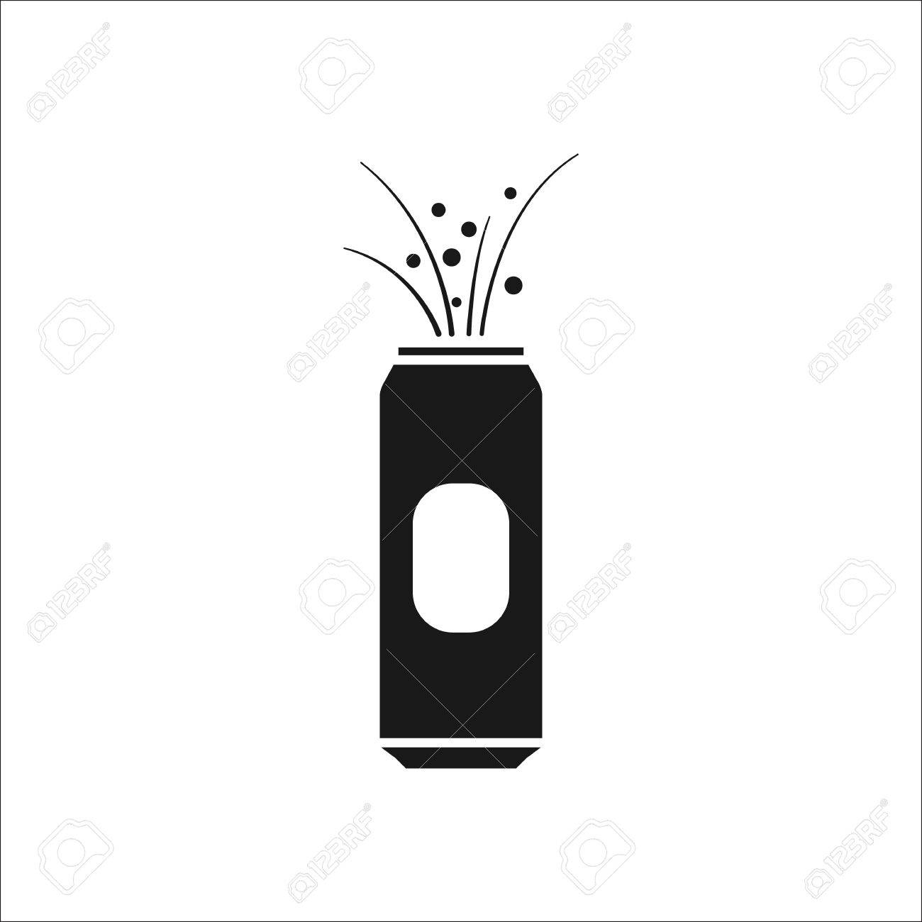 Beer can opened explosion symbol sign simple icon on background beer can opened explosion symbol sign simple icon on background stock vector 61539739 buycottarizona
