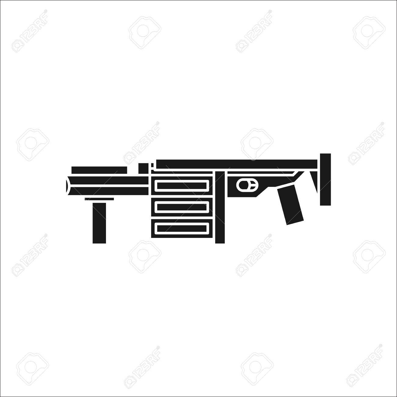 Grenade launcher gun symbol sign silhouette icon on background grenade launcher gun symbol sign silhouette icon on background stock vector 63317841 biocorpaavc Images