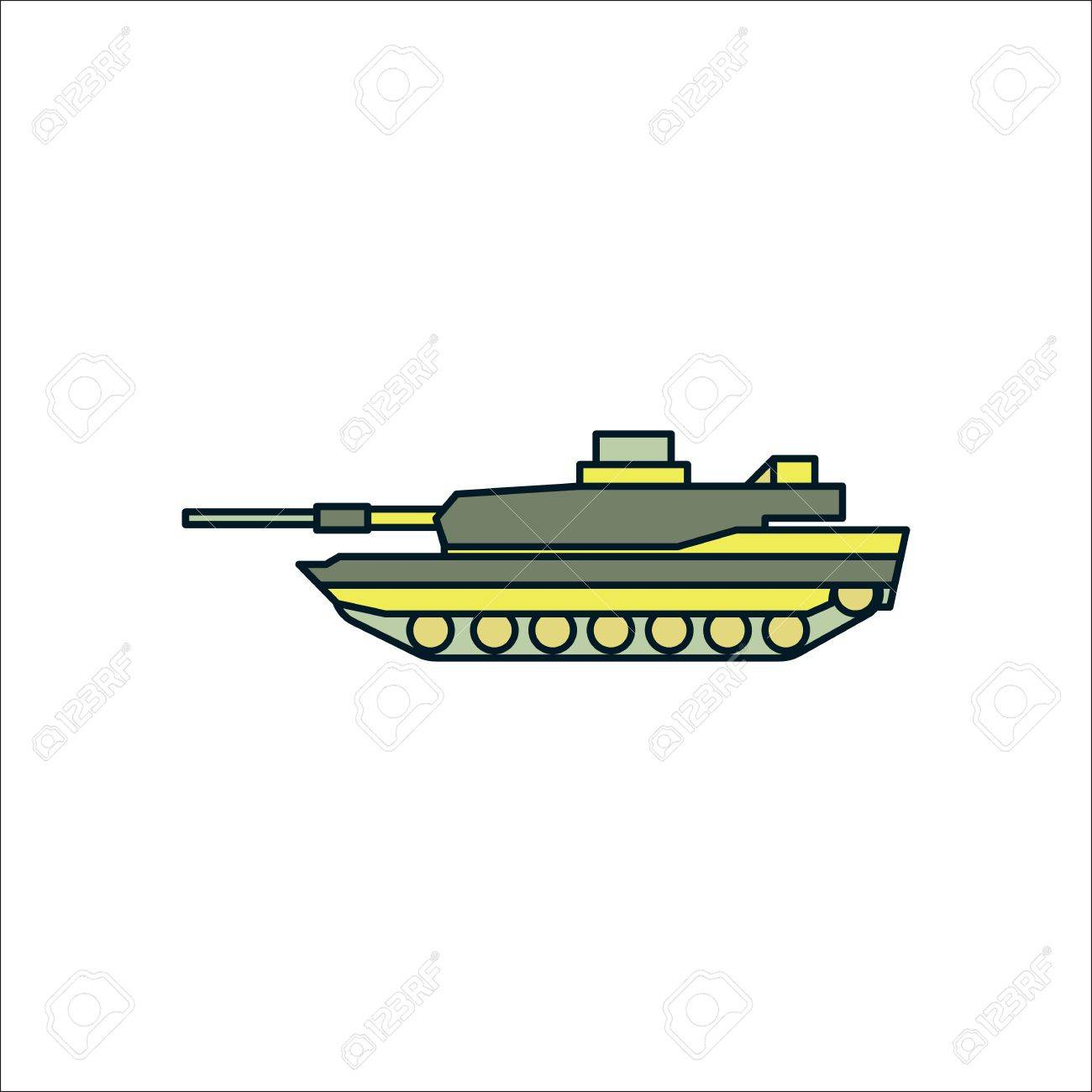 modern military tank symbol sign flat icon on background royalty free cliparts vectors and stock illustration image 63317926 modern military tank symbol sign flat icon on background