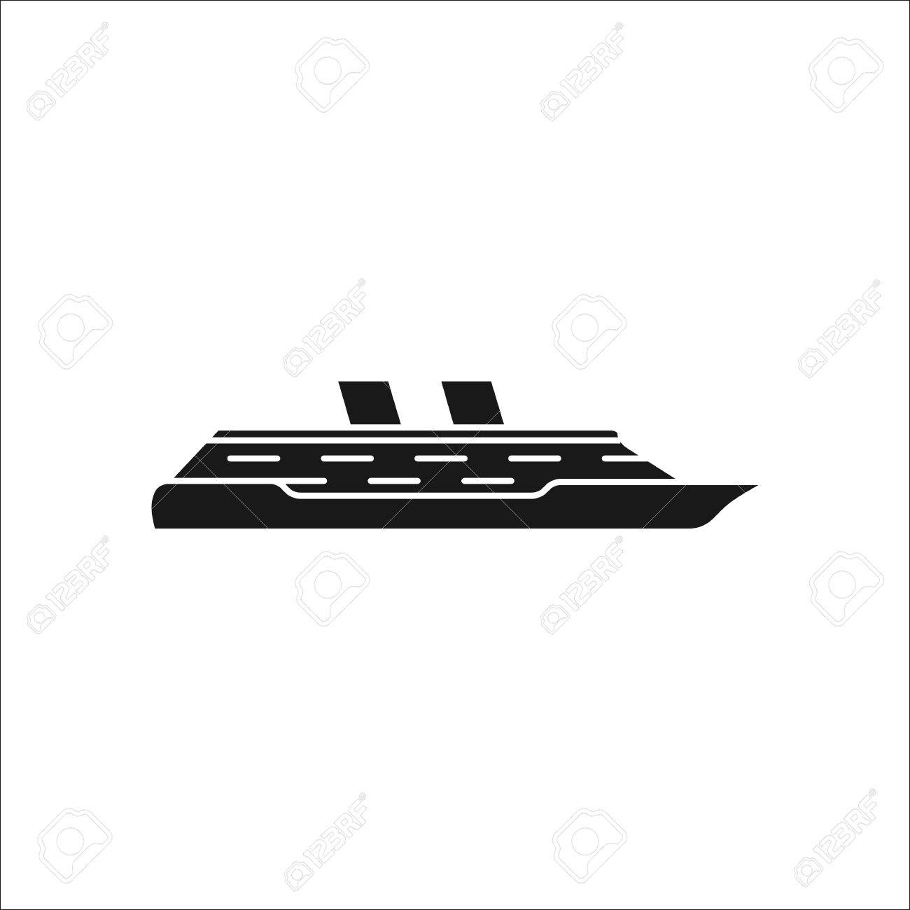 Cruise ship profile sign silhouette symbol icon on background cruise ship profile sign silhouette symbol icon on background stock vector 63318659 buycottarizona