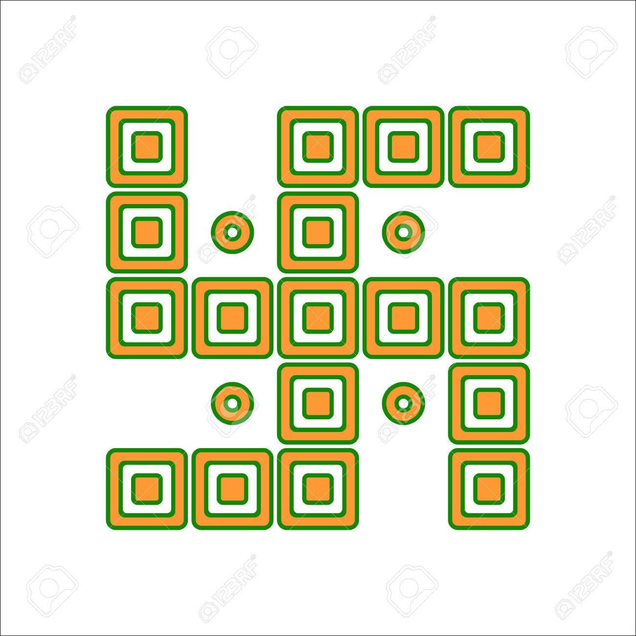 Indan Swastika Symbol Simple Flat Icon On Background Royalty Free