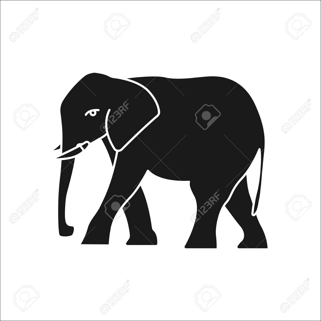 Elephant symbol sign silhouette icon on background stock photo elephant symbol sign silhouette icon on background stock photo 70724132 buycottarizona Images