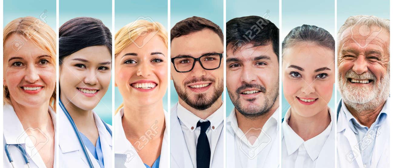 Professional healthcare people doctor, nurse or surgeon. - 145041056