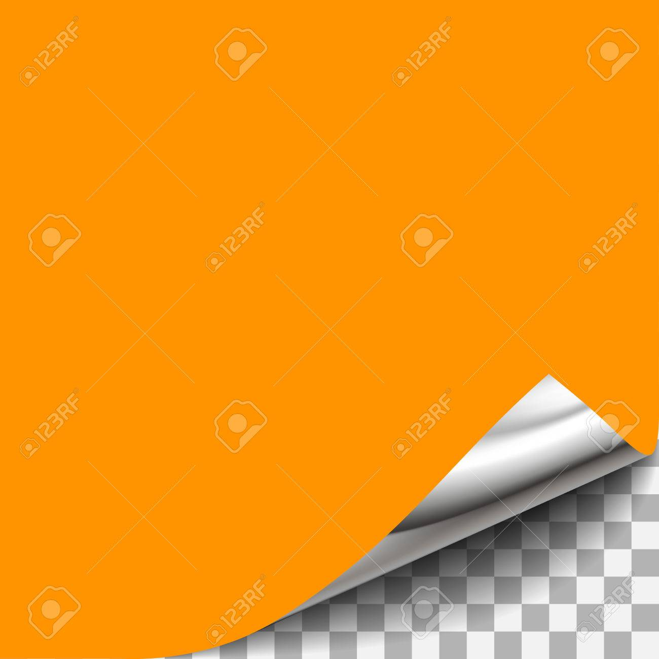 Curled Transparent Paper Corner. For shet of paper page design with curled corner, document design with curled corner, web graphic with curled corner, design with curled corner - 59591050