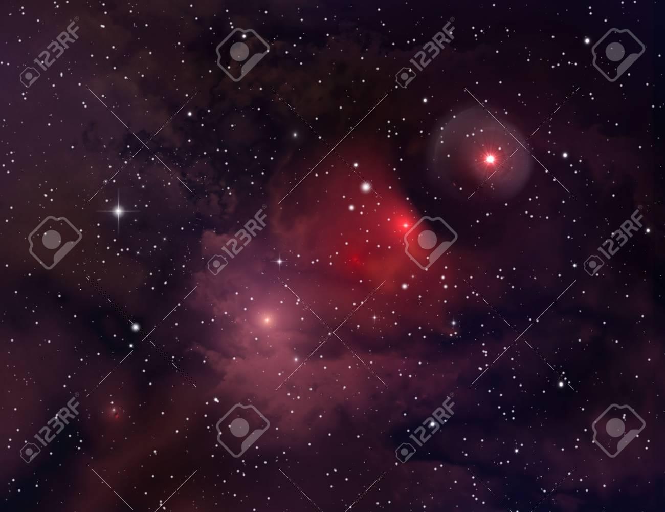Nebula ( abstract background ) Stock Photo - 5898071