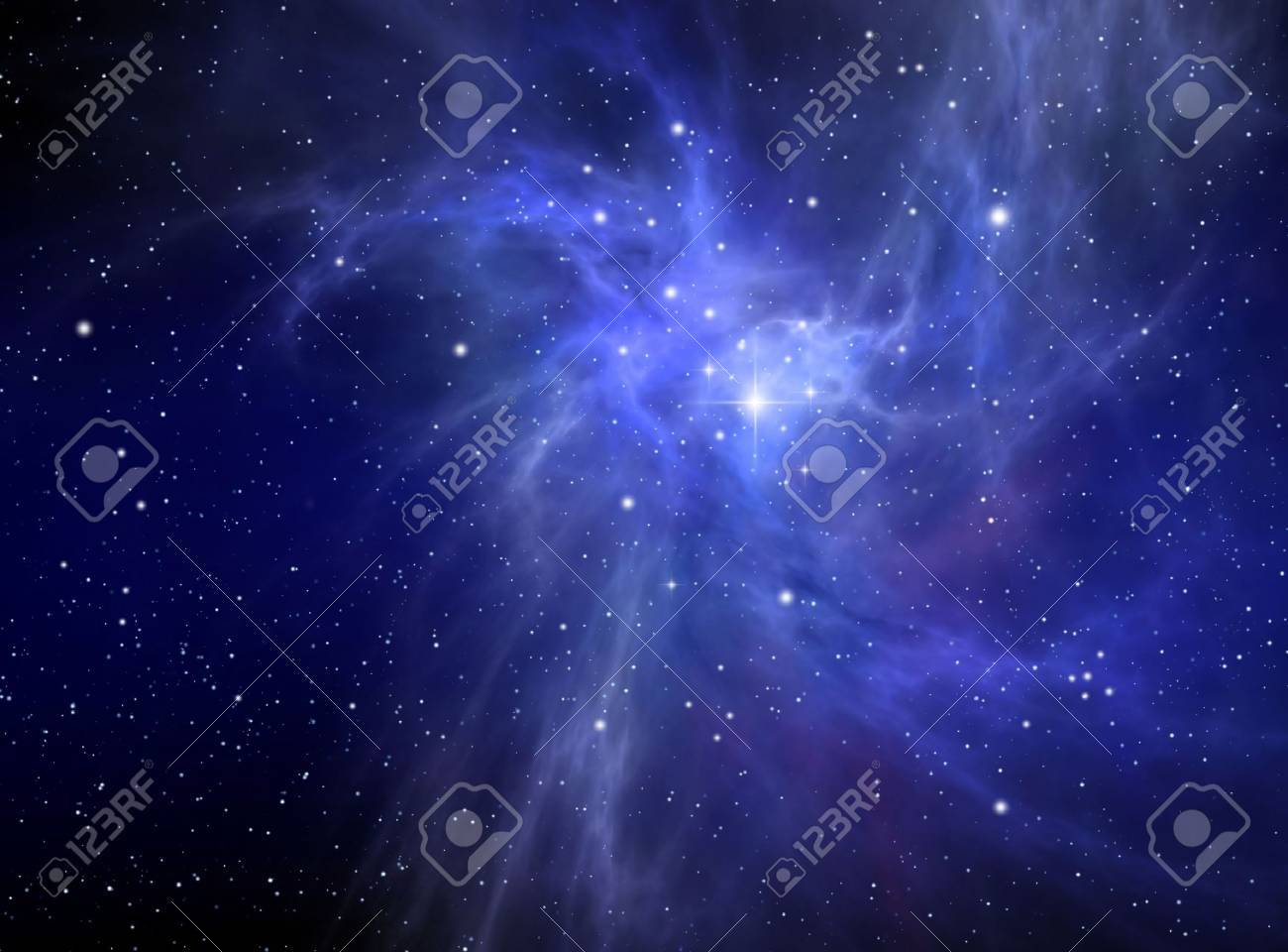 Nebula ( abstract background ) Stock Photo - 5898090