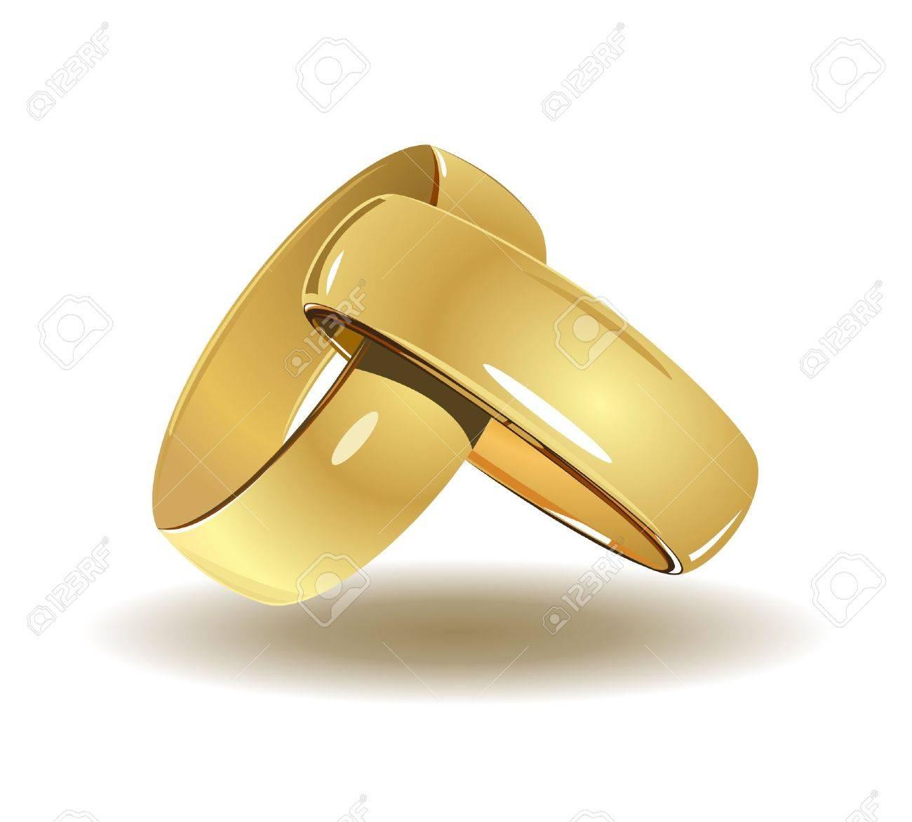 Wedding rings Stock Vector - 11818424