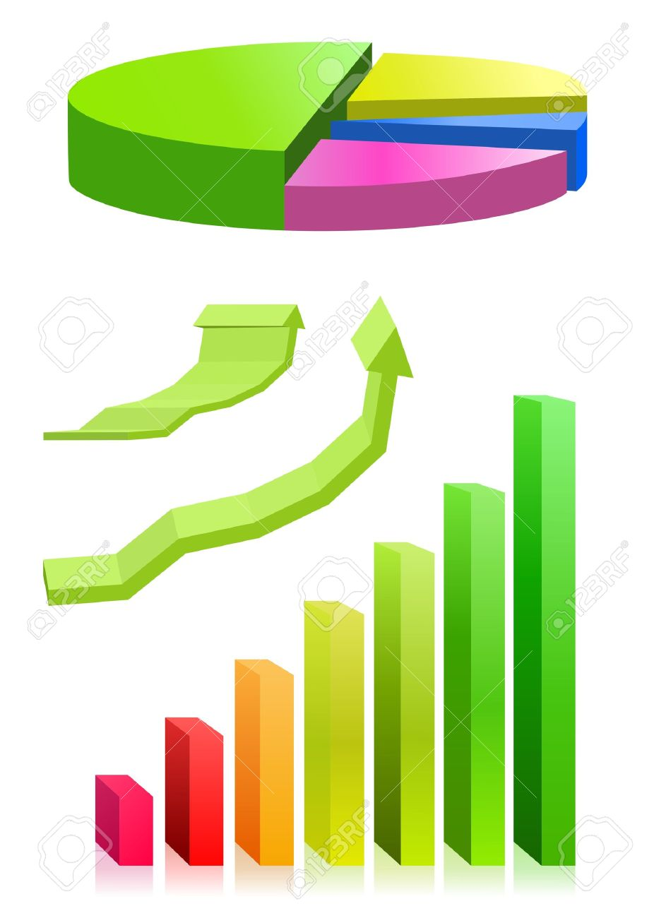 Pie chart and bar graph royalty free cliparts vectors and stock pie chart and bar graph stock vector 11889862 nvjuhfo Gallery