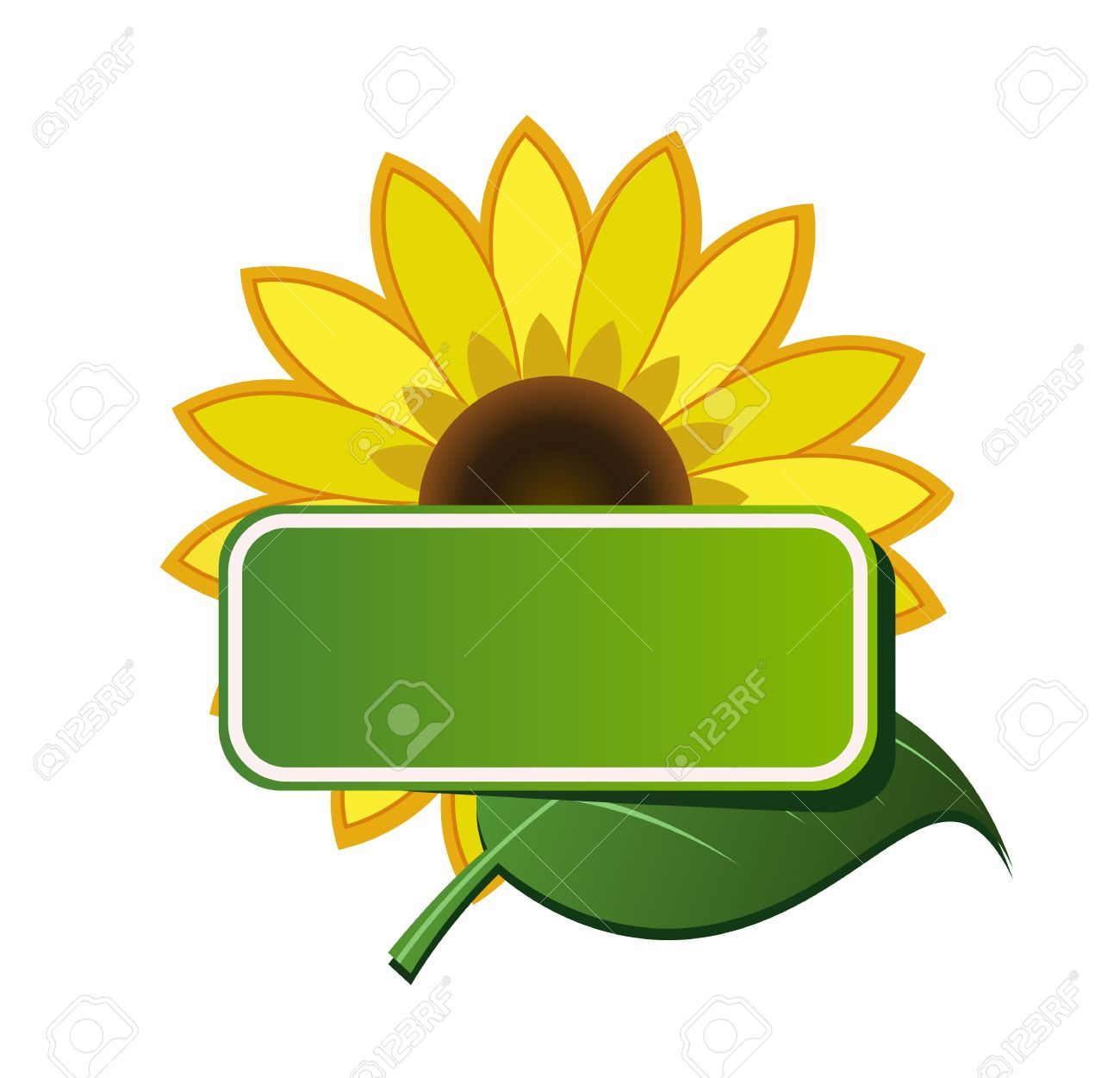 1 134 sunflower border stock vector illustration and royalty free rh 123rf com sunflower border clip art free Printable Sunflower Border Clip Art