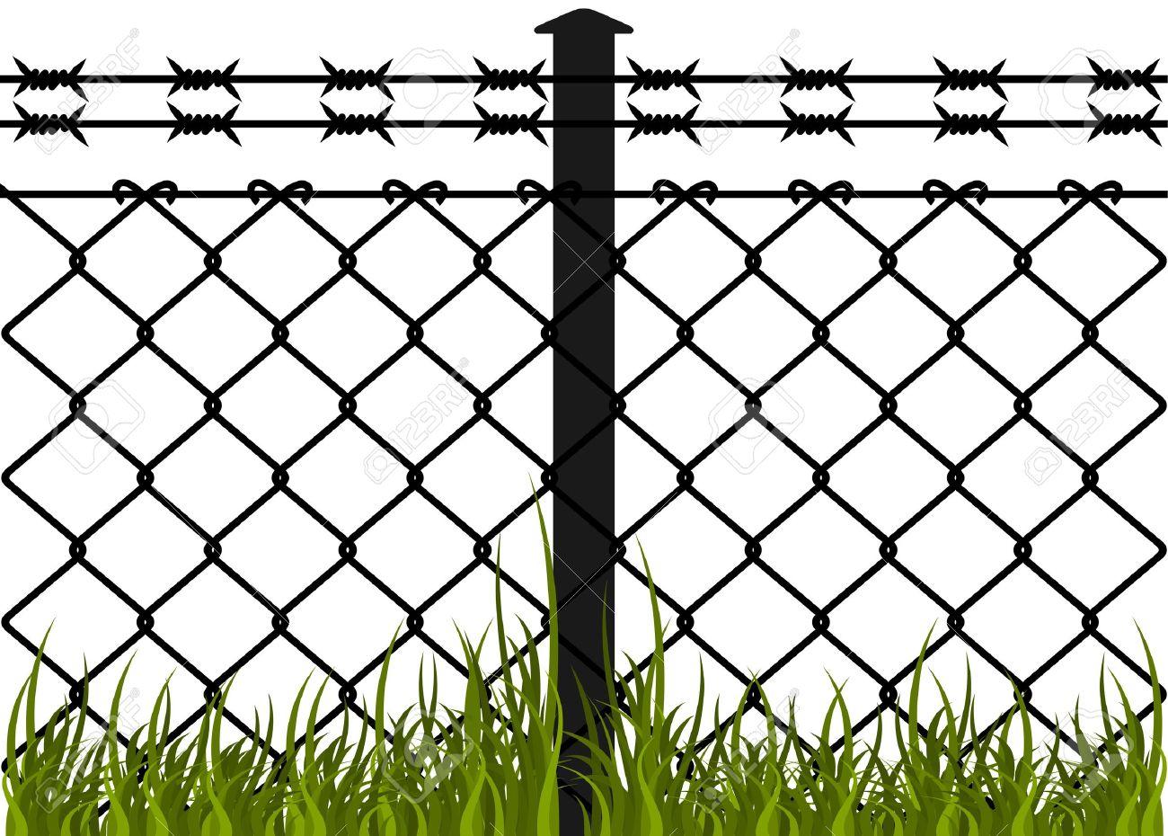 Как сделать забор из колючей проволоки своими руками