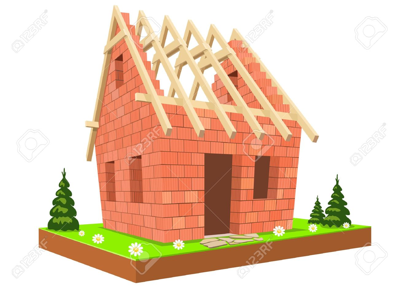 Dwelling Construction Images & Stock Pictures. 23,467 Royalty Free ...