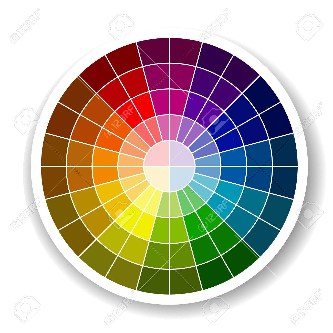 Color Palette Stock Vector - 20442223