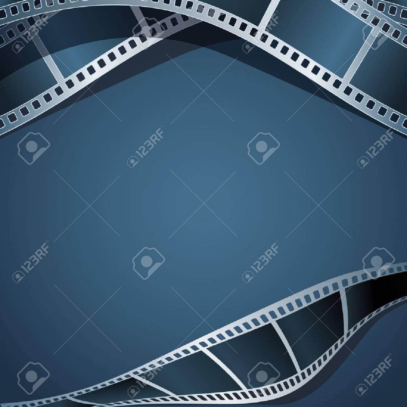 Blank photo - video template, illustration Stock Vector - 21725207
