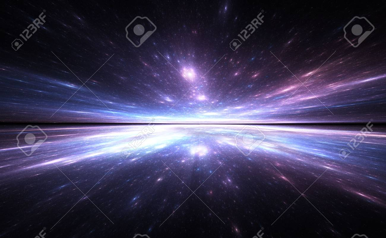 Time warp background, traveling in space. - 34272206