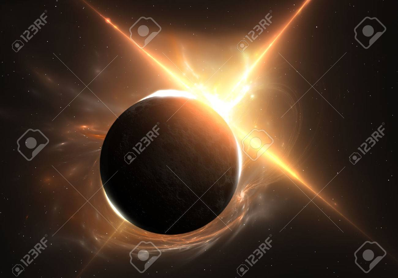 Total eclipse of the Sun - 39224251