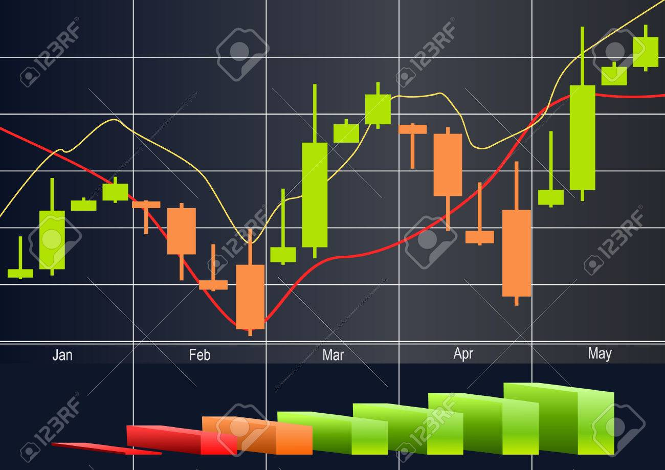 Commodity, Forex trading vector - 43848276