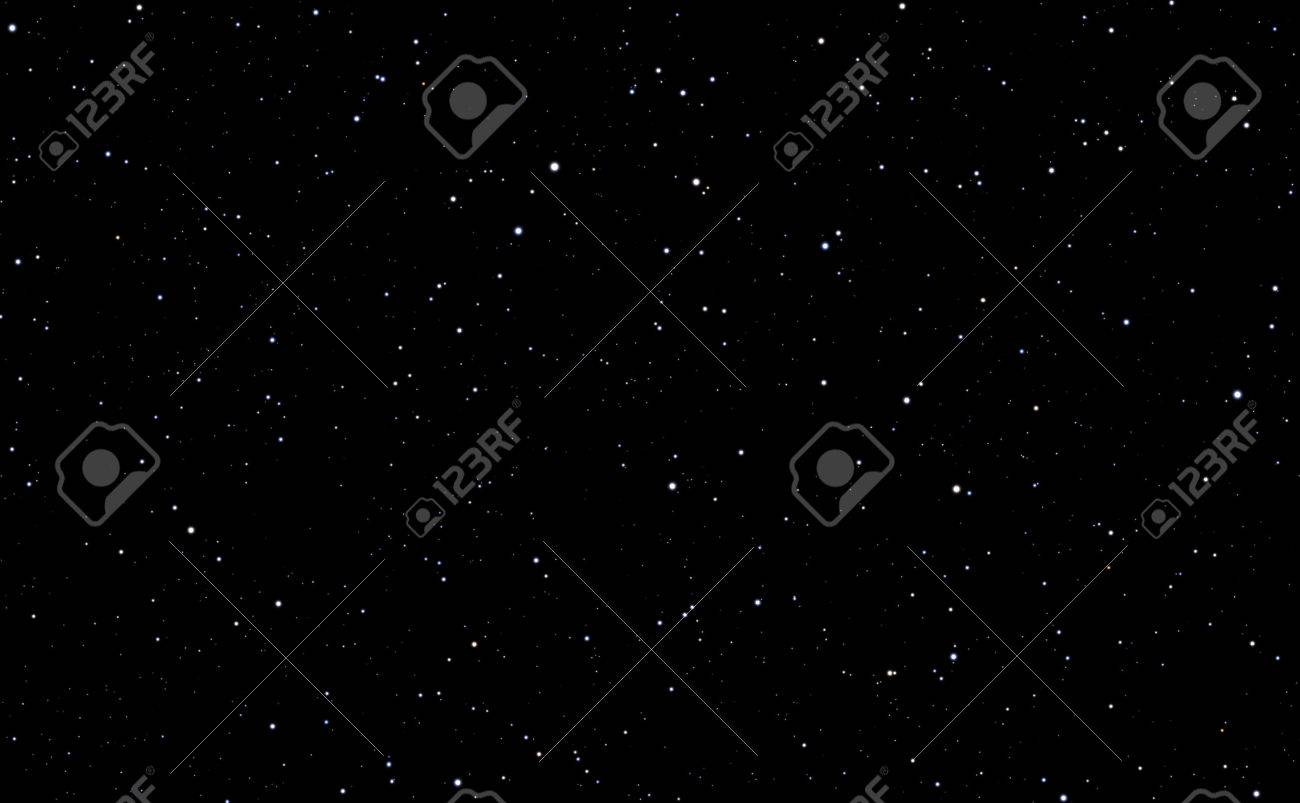 Space background with stars - 46619055