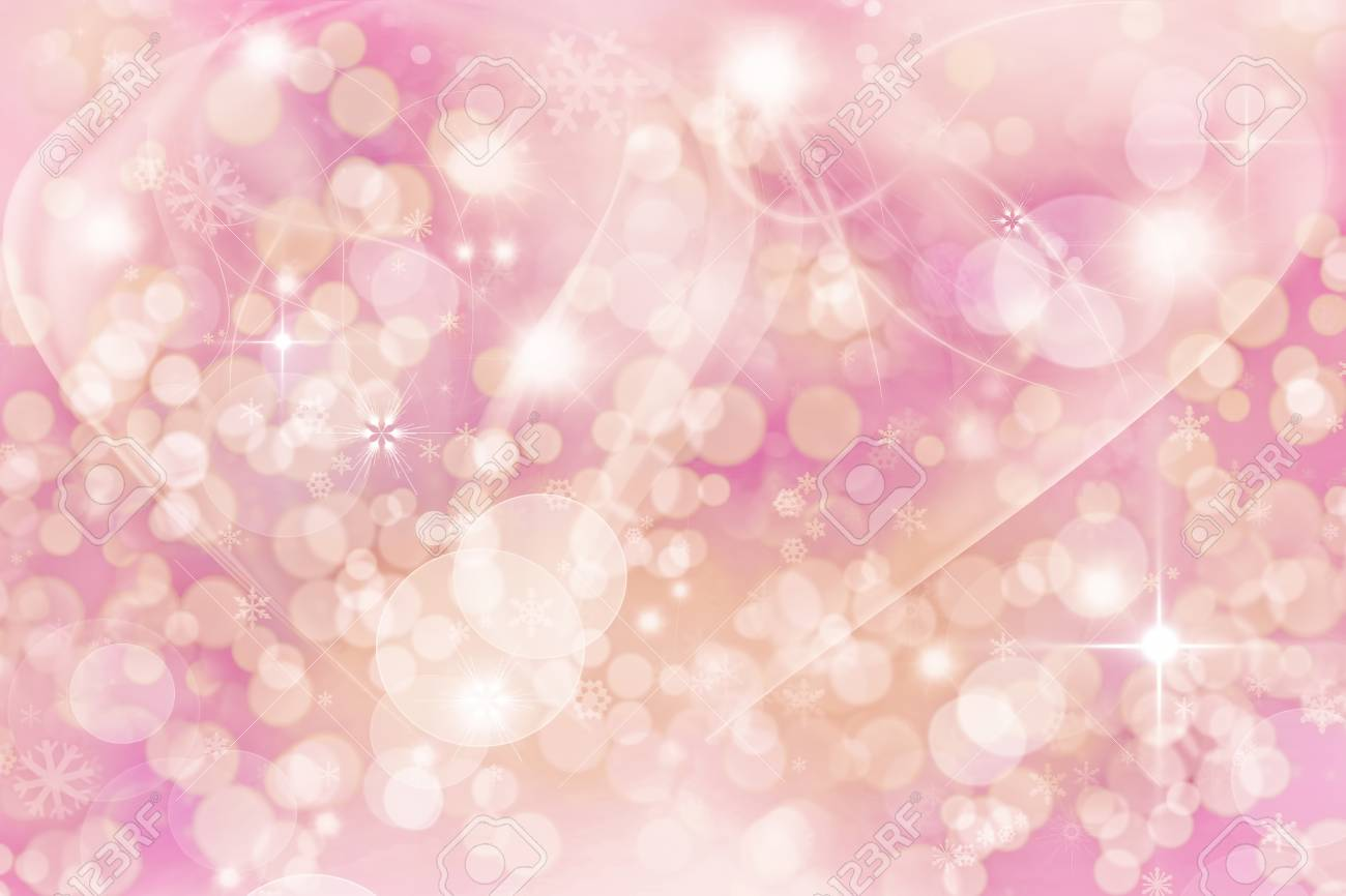 Abstract Winter background   Christmas abstract bokeh Stock Photo - 13212759