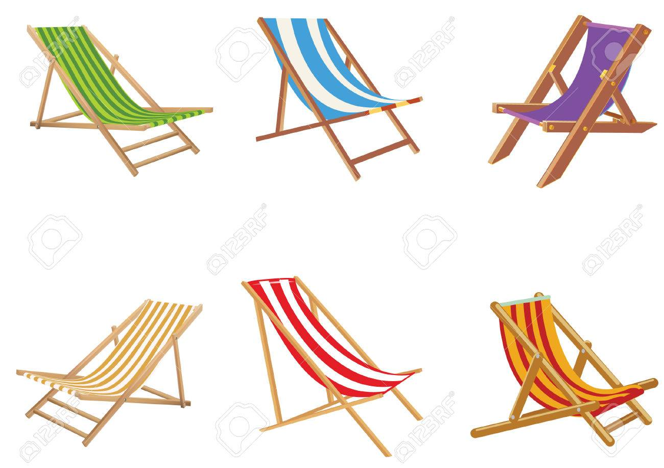 Beach Chair Vector beach chair vector royalty free cliparts, vectors, and stock