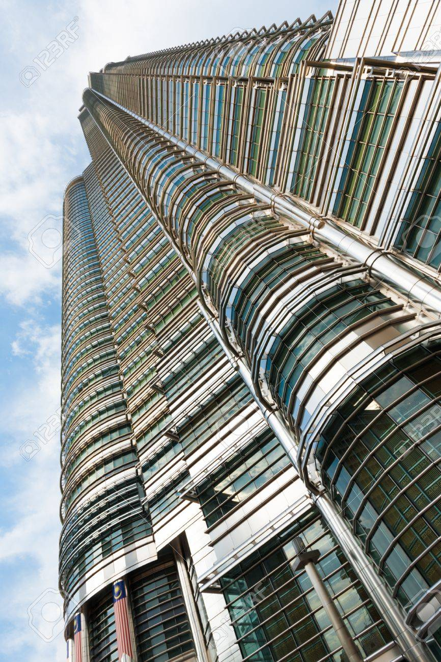 A beautiful angle looking up the side of the petronas towers a beautiful angle looking up the side of the petronas towers menora kuala lumpur in buycottarizona Gallery