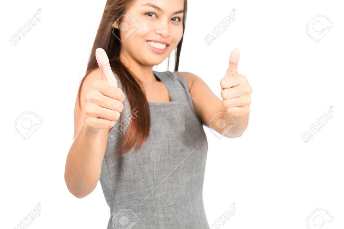 Thumbs up origin