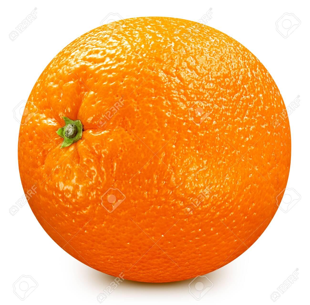 Orange fruit. Orange isolated on white background. - 146096481