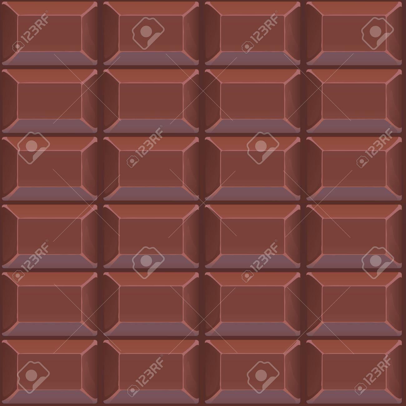 チョコレートのシームレスなベクトル パターン 背景に最適 壁紙