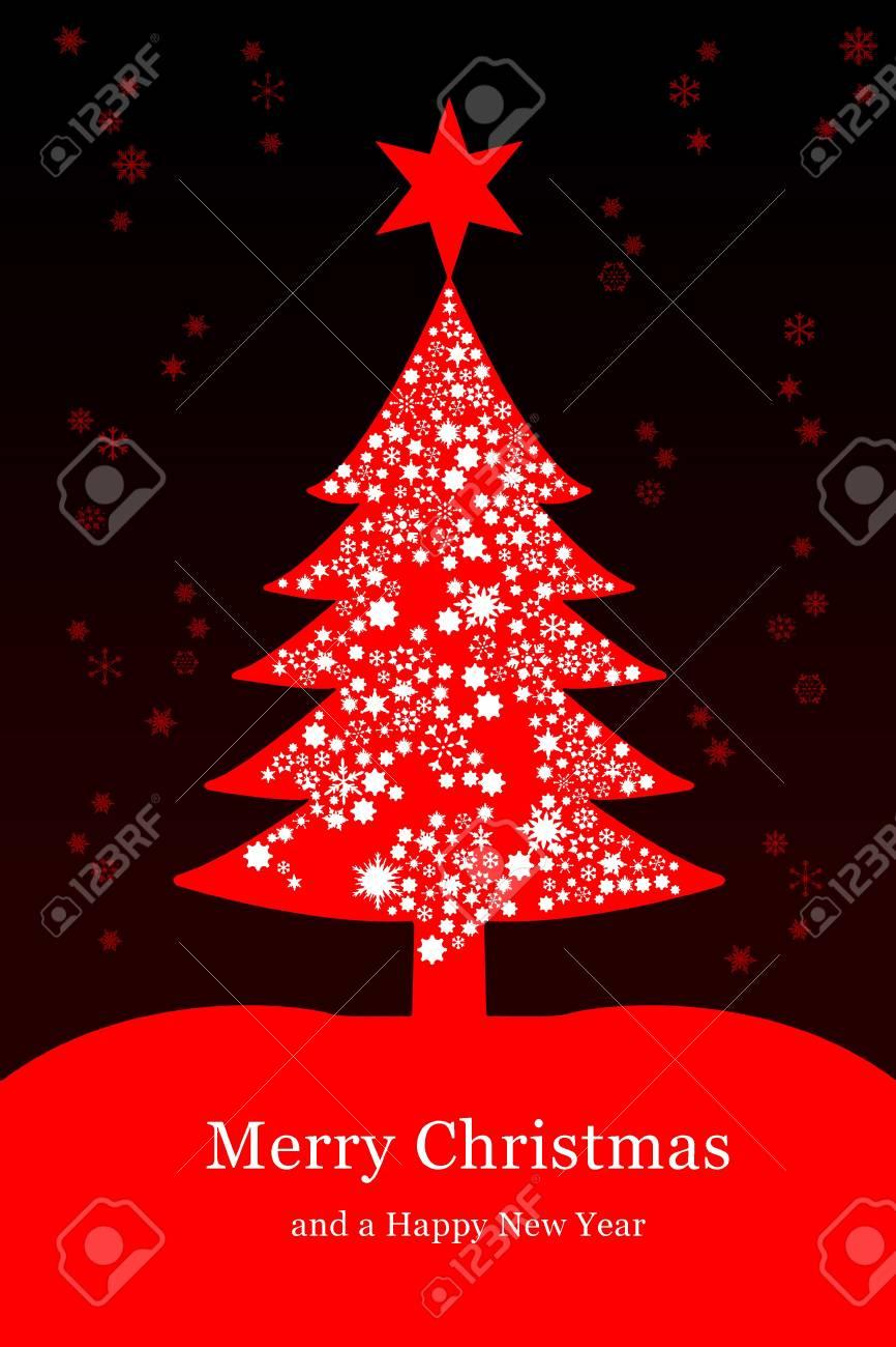 Albero Di Natale Auguri.Immagini Stock Albero Di Natale Auguri Image 8133312